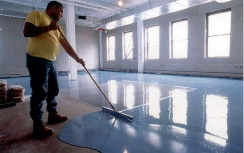 concrete polishing process
