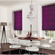 Appealing looks with roman blinds